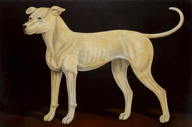 William Skilling, 'Irish Hound Dog', ca. 1940, Painting, Oil on Canvas, RoGallery