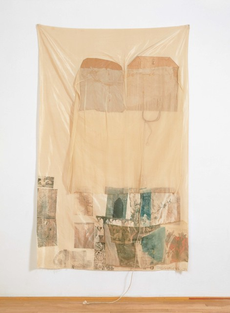 Robert Rauschenberg, 'Moor (Hoarfrost)', 1974, Mixed Media, Solvent transfer on fabric and collage, Robert Rauschenberg Foundation