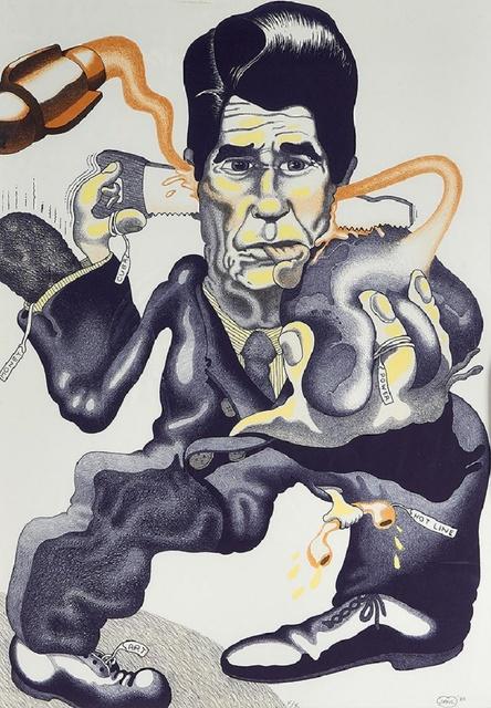 , 'Politics,' 1985, Alpha 137 Gallery