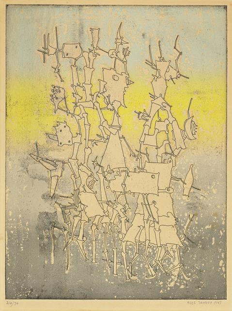 Yves Tanguy, 'Rhabdomancie, from: Brunidor Portfolio No. 1', 1947, Christie's