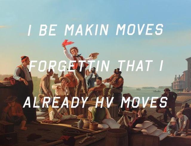 Shawn Huckins, 'The Jolly Flatboatmen: I Be Makin Moves...', 2015, Quidley & Company