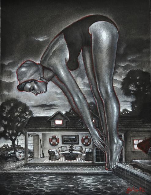 , 'An Evening Dip Study,' , Joanne Artman Gallery