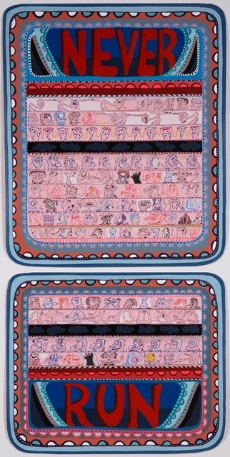 , 'Never Run,' 2008, V1 Gallery