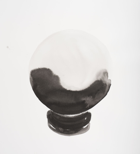 , 'Crystal Ball Work on Paper #6,' 2012-2013, Jane Lombard Gallery