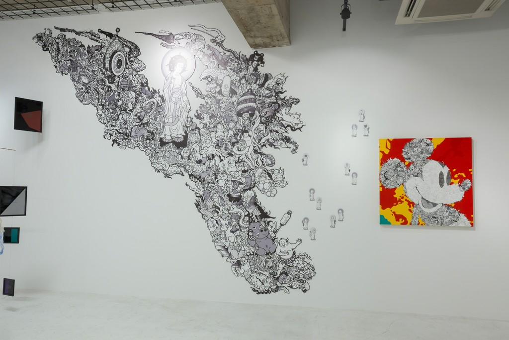 """Identity X"" installation view at nca 