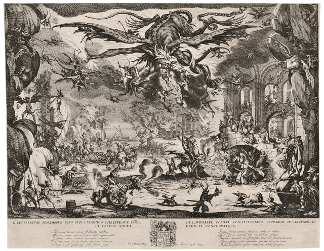 , 'The Temptation of Saint Anthony,' 1635, David Tunick, Inc.