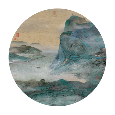 , 'New Landscape Part I - YL05 Mountain Pasture with Floating Clouds 清崖橫雲圖  ,' 2007, Galerie du Monde