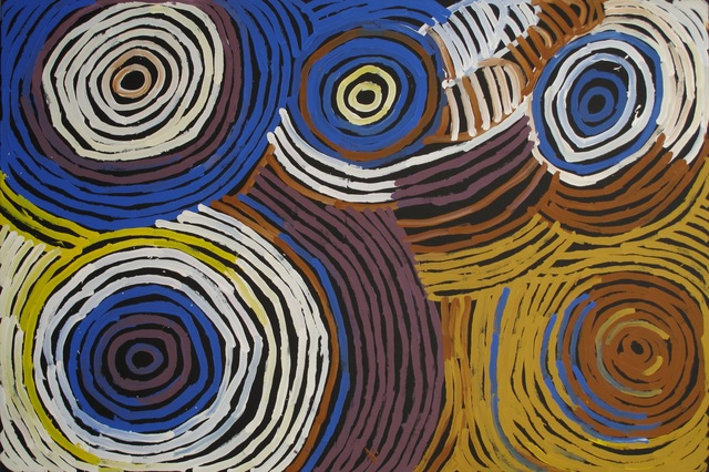 Minnie Pwerle, 'Awelye (Women's ceremonial body paint)', Painting, Acrylic On Linen, Wentworth Galleries