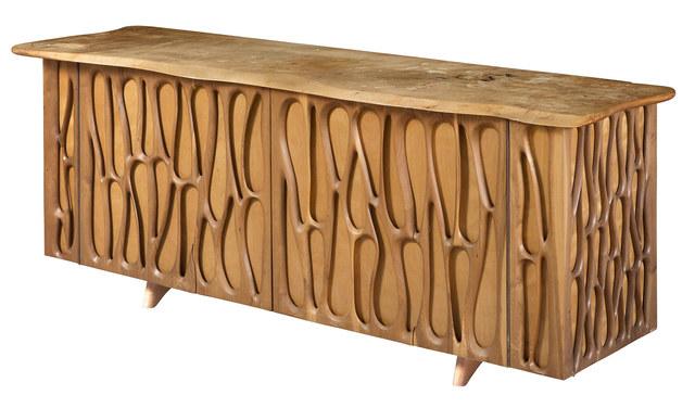 'Mid-Century Walnut Sideboard Manner of Phillip Lloyd Powell', 1960s/1970s, Design/Decorative Art, Doyle