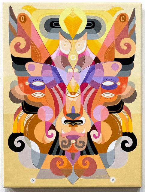 Fernando Chamarelli, 'Mascara Viva (Live Mask)', 2016 , Painting, Acrylic on canvas, ANNO DOMINI