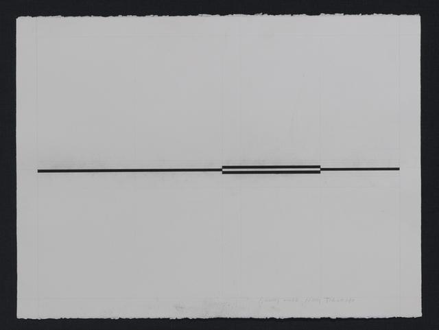 , 'Stroke-line_4,' 2015, AANDO FINE ART