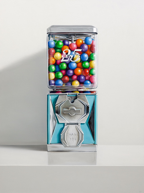 , '25 Cents,' 2018, George Billis Gallery