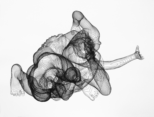 Zachary Eastwood-Bloom, 'Pluto', 2017, Print, Plotted ink drawing, Pangolin London