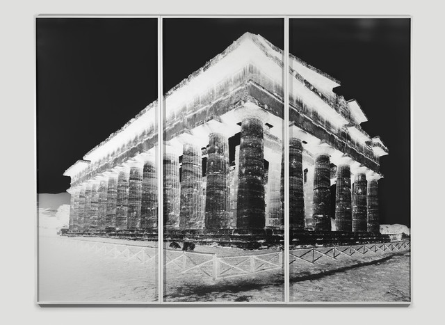 , 'Temple of Nettuno, Paestum, XX: October 19, 2015,' 2015, Alfonso Artiaco