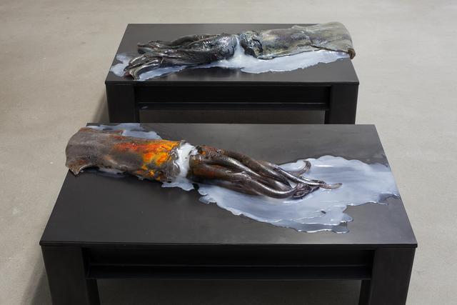Anne Wenzel, 'Nightfall (Tainted devotion/ Altgold)', 2017, Akinci
