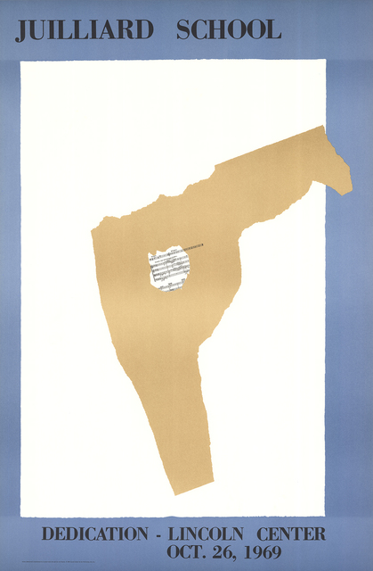 Robert Motherwell, 'Juilliard School Dedication', 1969, ArtWise