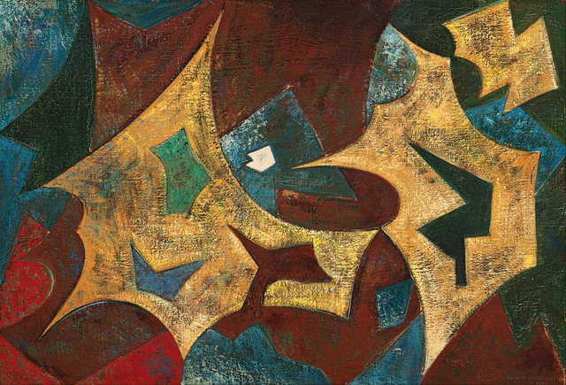 Eugene Labuschagne, 'Abstract Composition', 1951, Strauss & Co
