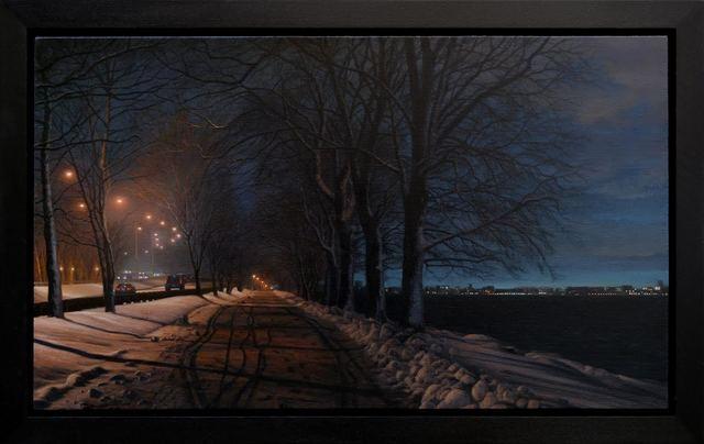 Stephen Fox, 'Riverside', 2014, Painting, Oil on Linen, ARCADIA CONTEMPORARY