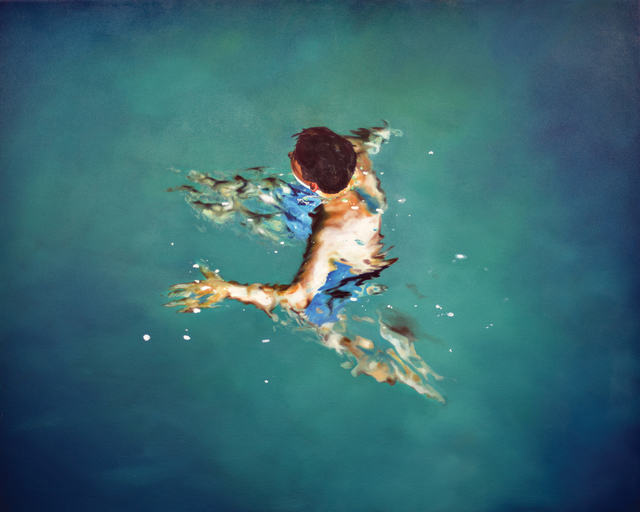 , 'Treading Water 2,' 2016, Gallery Henoch