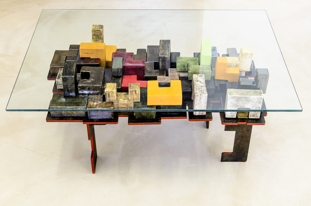 , 'Docks table,' 2013, Southern Guild