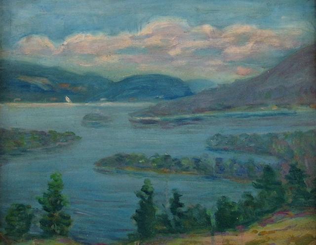 Louise Kamp, 'Blue Lake from Bluff', ca. 1930, Janus Galleries