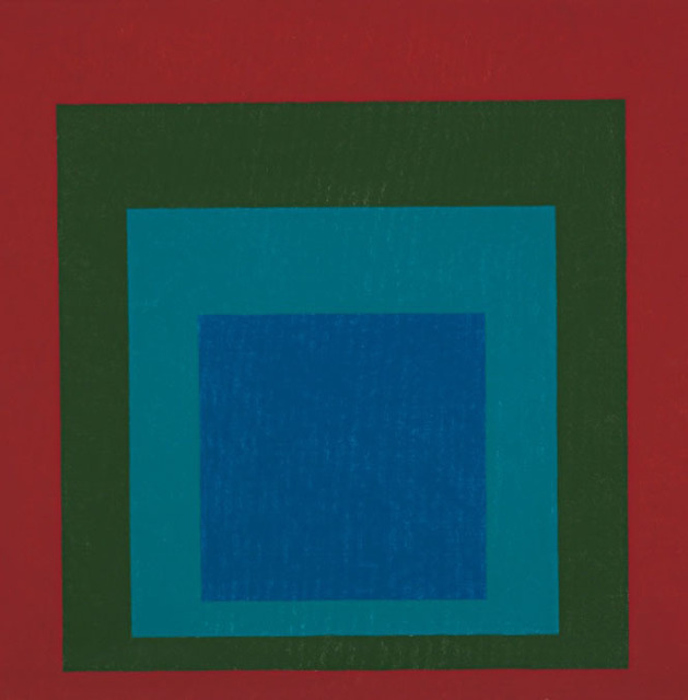 , 'study for homage to the square mellowed,' 1960, Galleria Seno