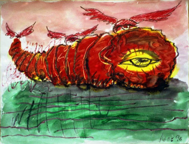 ", '""Big cocoon"",' 1990, Krokin Gallery"