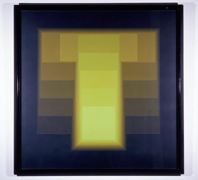 , 'color sound 48 introversion,' 1972-1986, Galerie Denise René
