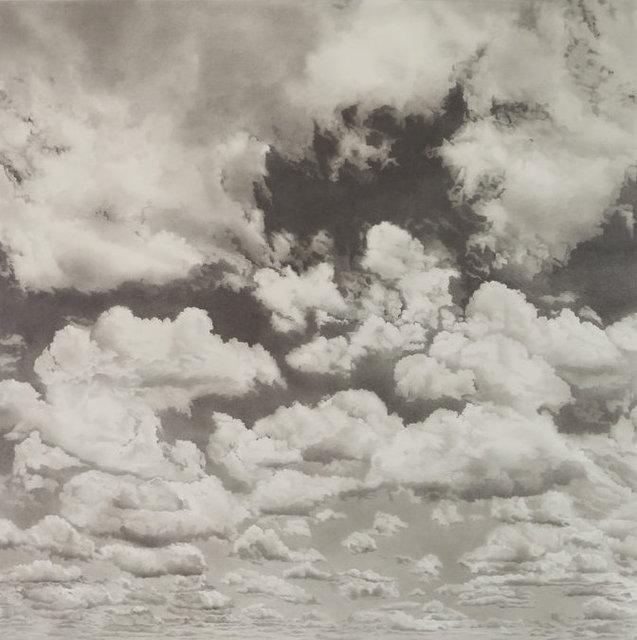 Li Trieb, 'Wolken XVII, 30.1.2017 - 12:00 bis 04.6.2018 - 20:24  (12827 Minuten gezeichnete Zeit)', 2018, Galerie Commeter / Persiehl & Heine