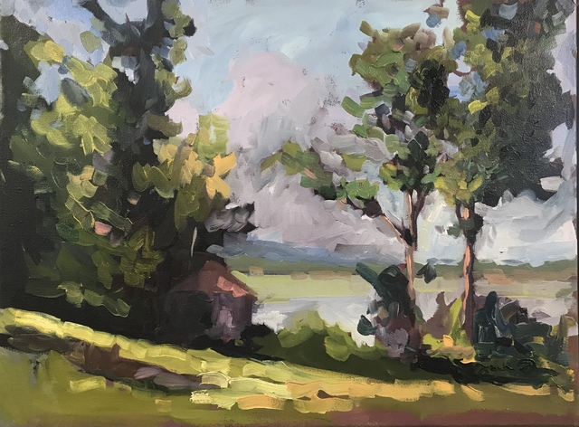 , 'Long Lake Summer,' 2017, J. Cacciola Gallery