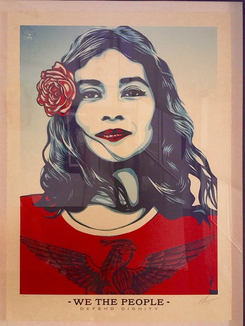 Shepard Fairey (OBEY), 'We the People ', 2016, Gallery 211