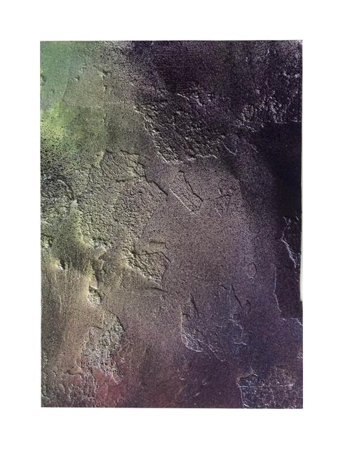 , 'Untitled (Burnt 10),' 2016, SCHUEBBE INC.
