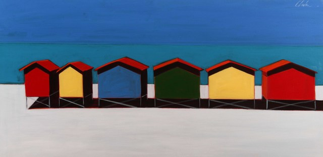 , '6 Beach Cottages,' 2017, Caldwell Snyder Gallery