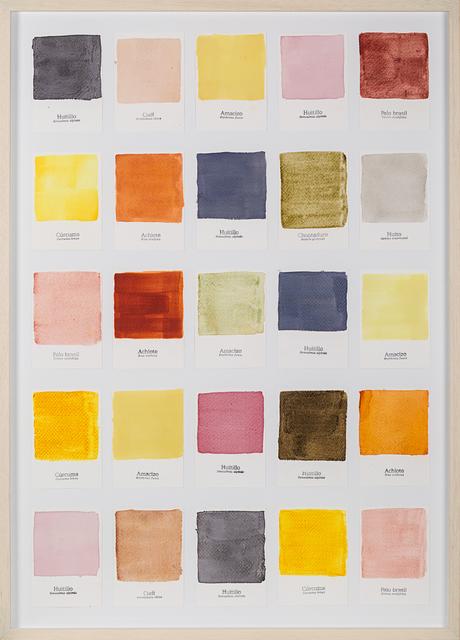 , 'Carta de Color II,' 2015, Galería de la Oficina