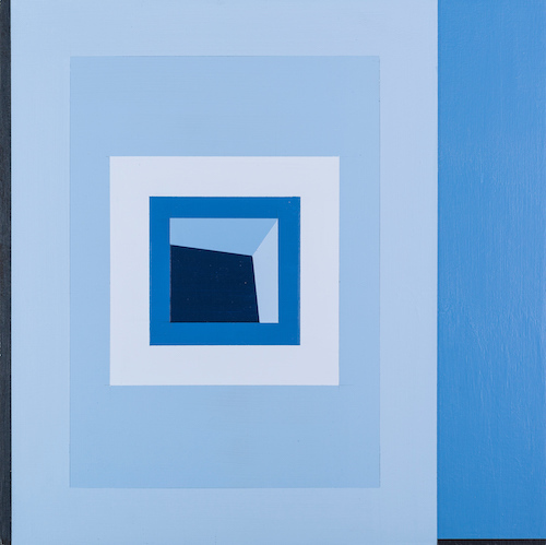 , 'Solid Blue 2,' 2018, The George Gallery