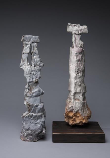 , 'Narrow Sculptures,' 2018, LACOSTE / KEANE GALLERY