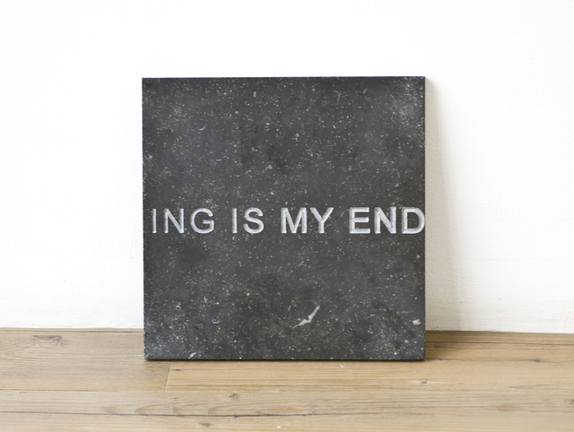 , 'In my beginning is my end,' 2013, Nogueras Blanchard