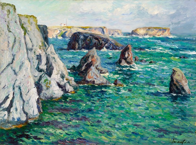 , 'Baie de Port Goulphar, Belle-île-en-Mer,' 1908, Stoppenbach & Delestre