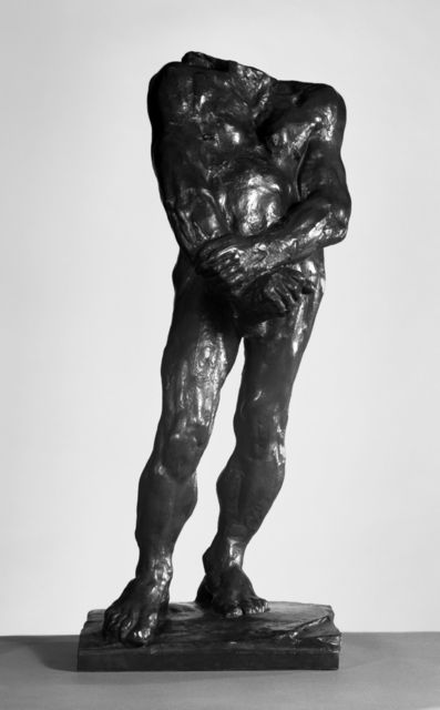 , 'Balzac, Second Study for Nude F,' 1896, Brooklyn Museum