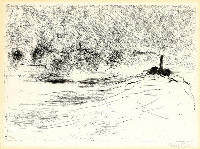 , 'Dampfer (Steamer),' 1910, Galerie Herold
