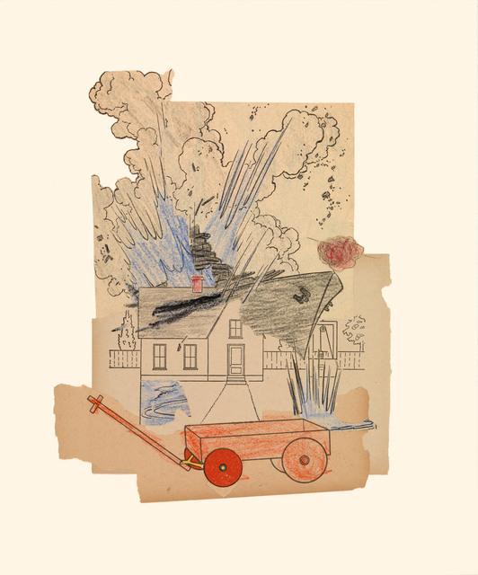 , 'Wagon 8/2/15,' 2015, Miller Yezerski Gallery