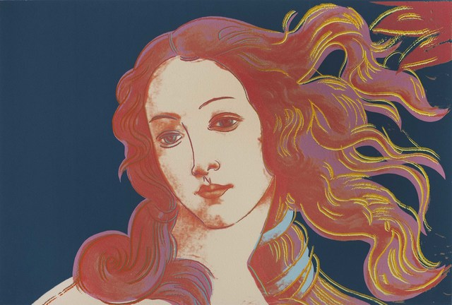 Andy Warhol, 'Details of Renaissance Paintings (Sandro Botticelli, Birth of Venus, 1482)', 1984, Galleria d'Arte Maggiore G.A.M.