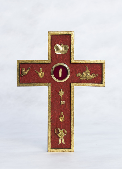 , 'Blinky Reliquary Cross,' 2008, Edward Cella Art and Architecture