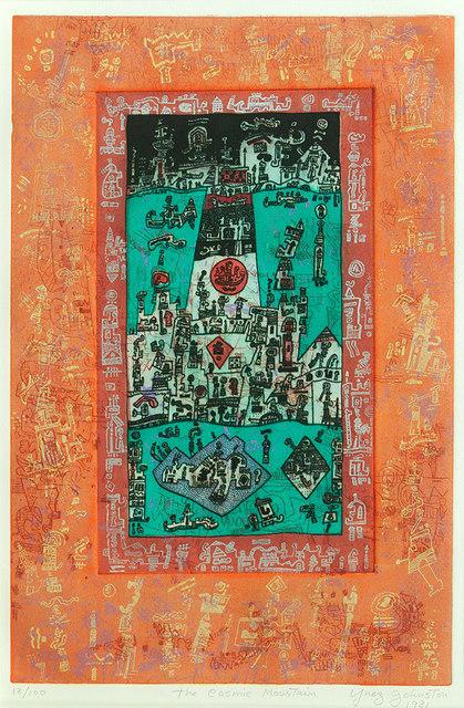 , 'Cosmic Mountain,' 1981, Sullivan Goss