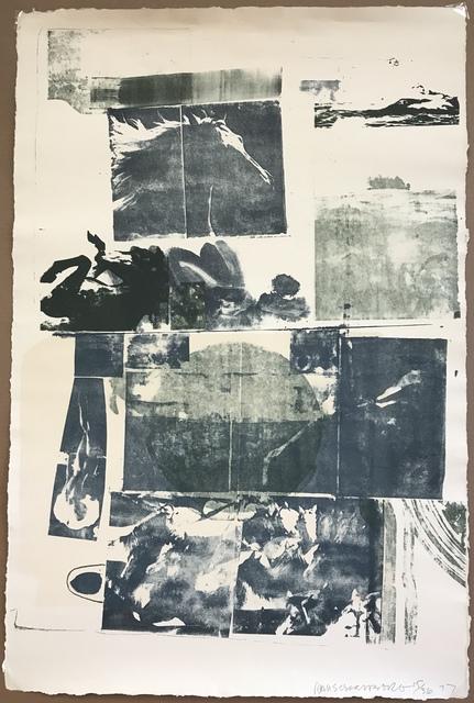 Robert Rauschenberg, 'Epic from Romances', 1977, Sragow Gallery