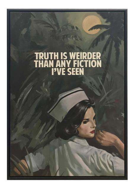 , 'Truth Is Weirder Than Any Fiction ,' 2018, Maddox Gallery