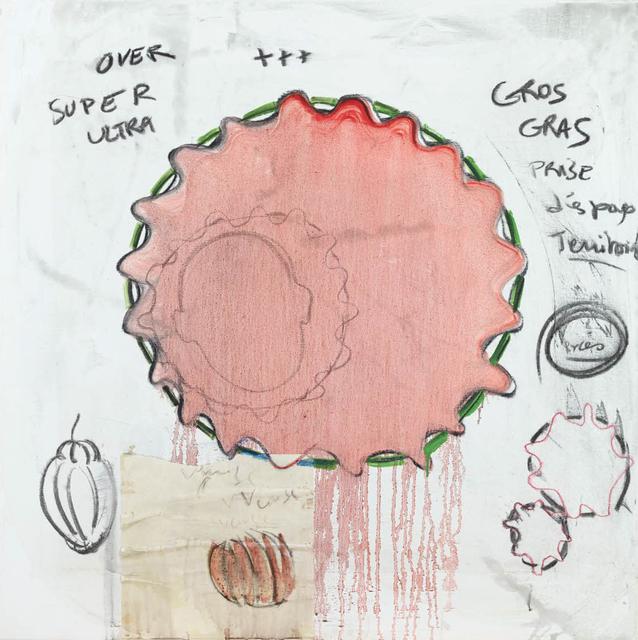 , 'Gros gras,' 2015, Galerie Nathalie Obadia
