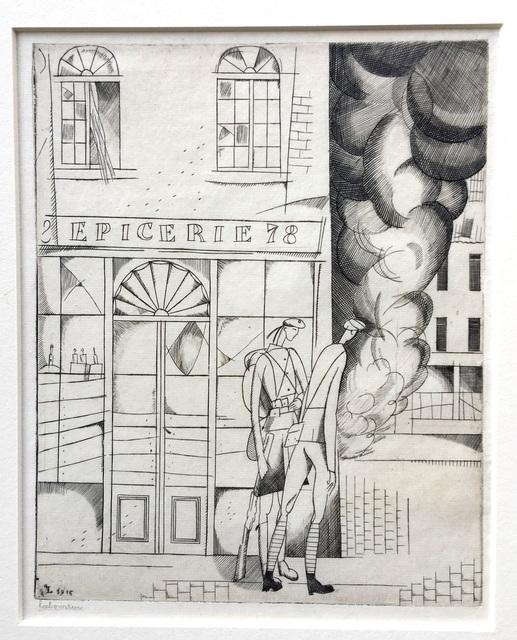 Jean-Emile Laboureur, 'Une Marmite', 1916, Harris Schrank Fine Prints