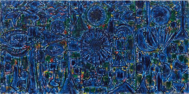 Richard Pousette-Dart, 'Blue Enstrata', 1984, Phillips
