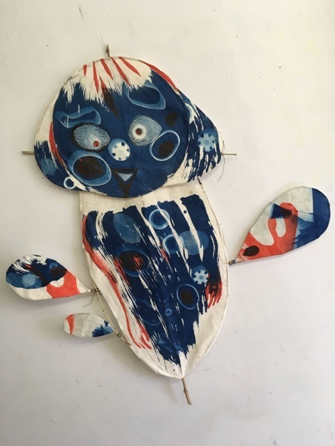 , 'Mouse Lady kite,' 2017, A.I.R. Gallery